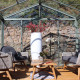 Serre de jardin en verre trempé SUPRA 23 m² - Aluminium