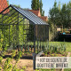 Serre de jardin Lams ALLIUM 7,30 m²
