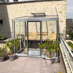 Serre adossée Lams LUXIA 3,57 m² - Aluminium
