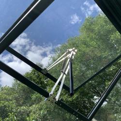 Ouverture automatique de lucarne double ressort pour lucarne de toiture