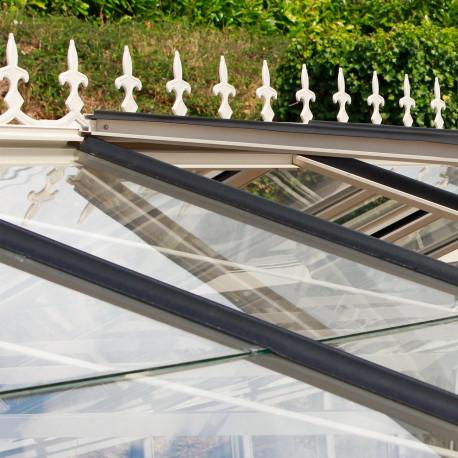Frise victorienne en fonderie d´aluminium - coloris aluminium naturel ou laqué