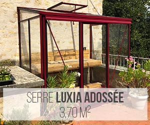 Serre Luxia adossée 3,70 m²